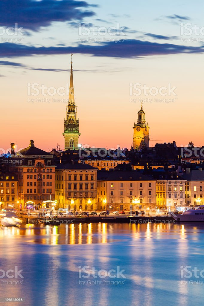 Sodermanland, Stockholm, Sweden stock photo