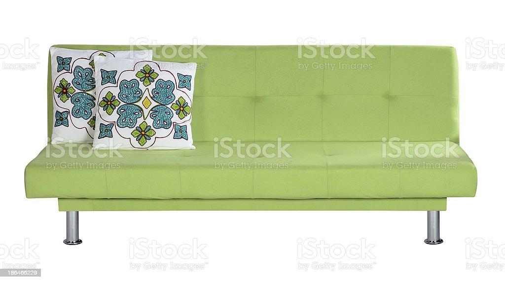 Sofa. Clipping path. stock photo