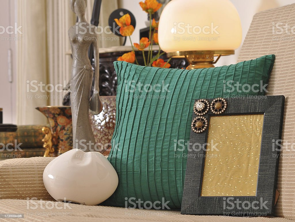 Sofa cushions royalty-free stock photo