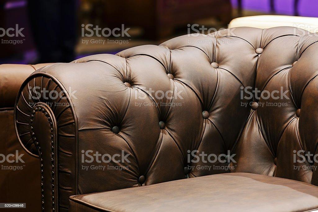Sofa detail stock photo