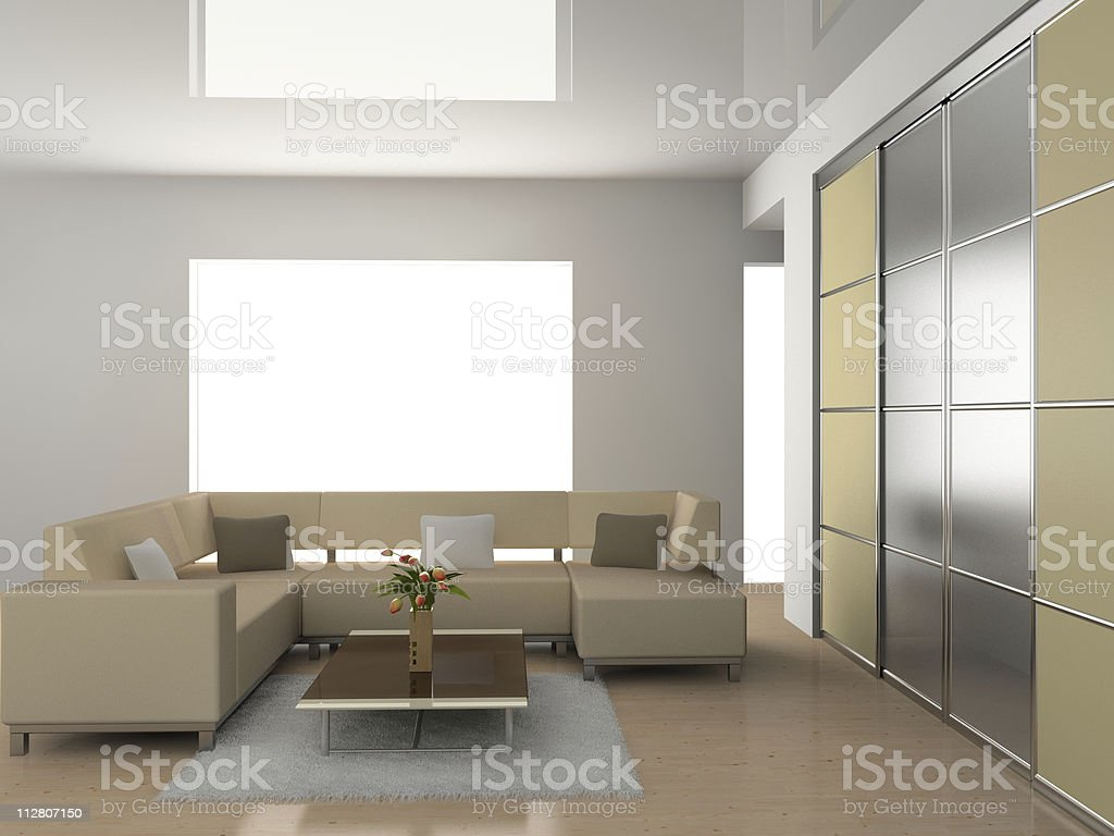 sofa in the room royalty-free stock photo