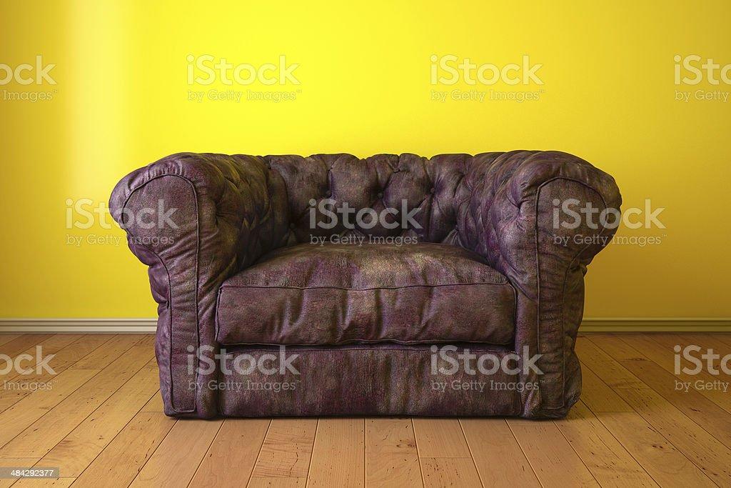 Sofa modern royalty-free stock photo