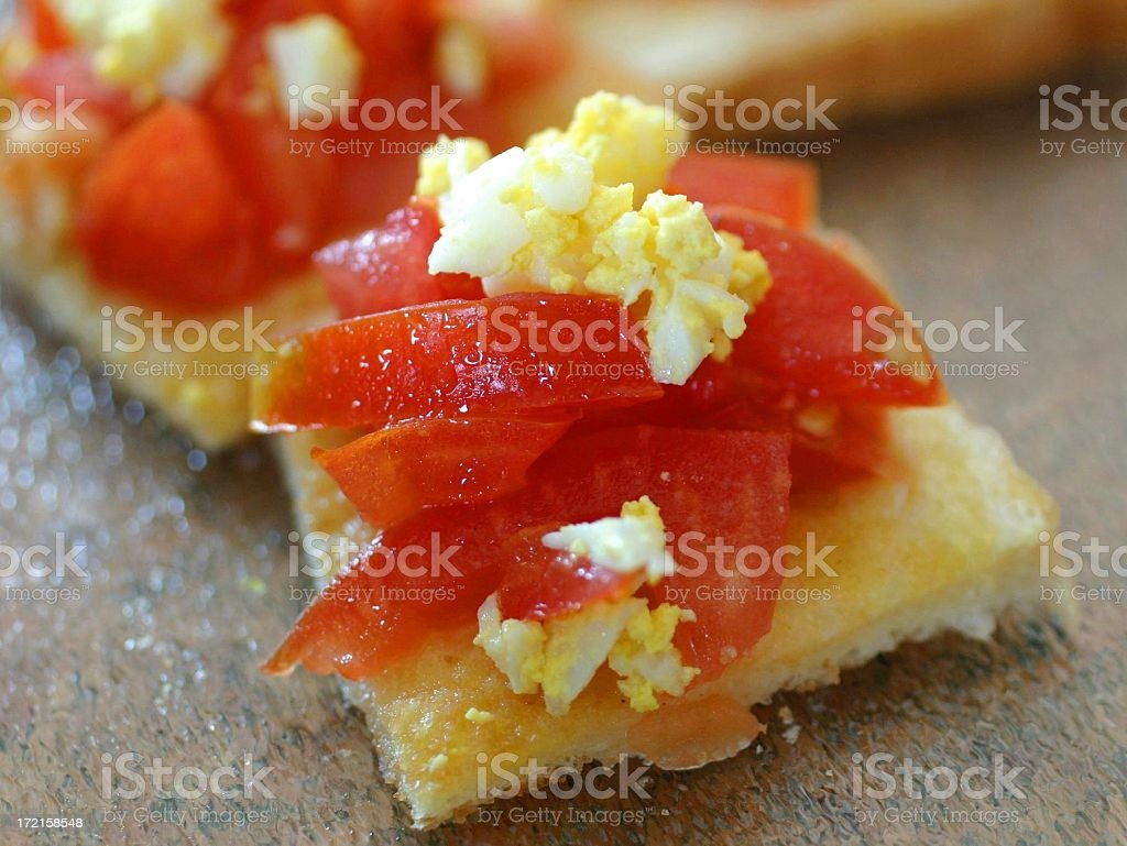 Canape royalty-free stock photo