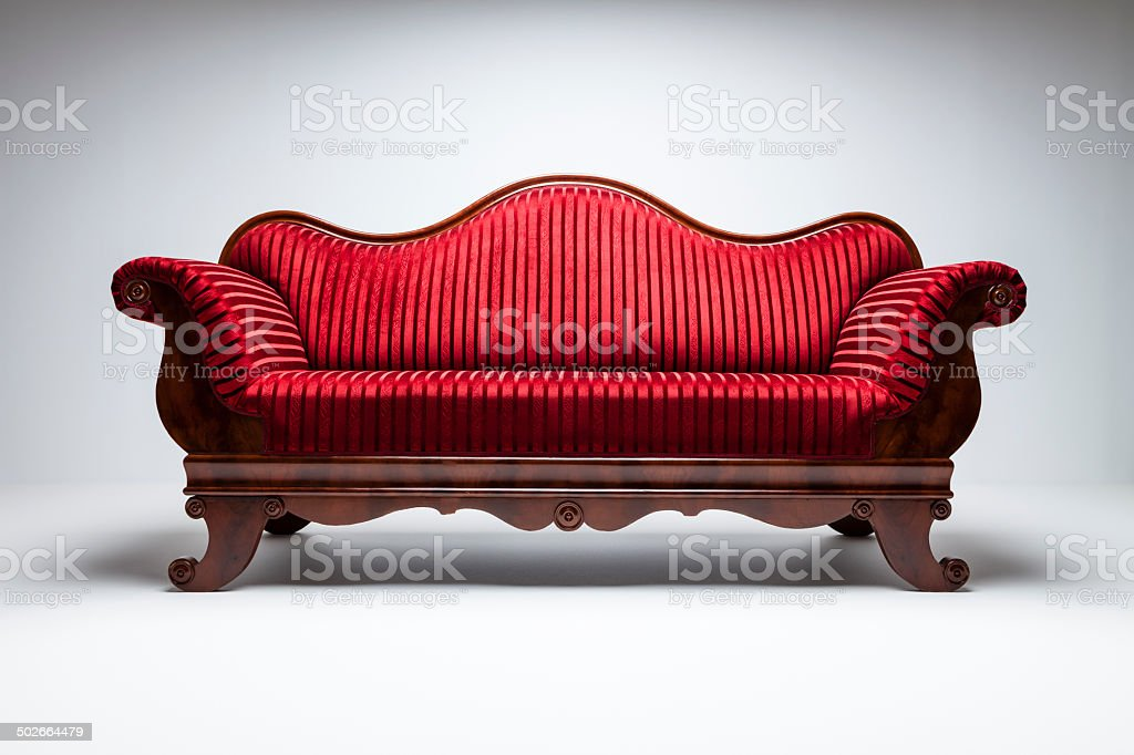 Sofa Royal stock photo