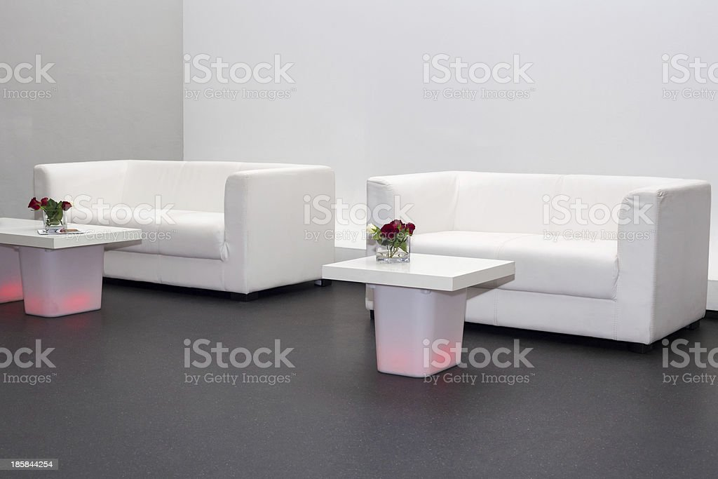 Sofas and coffee tables royalty-free stock photo