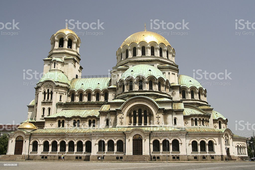 Sofia Cathedral stock photo
