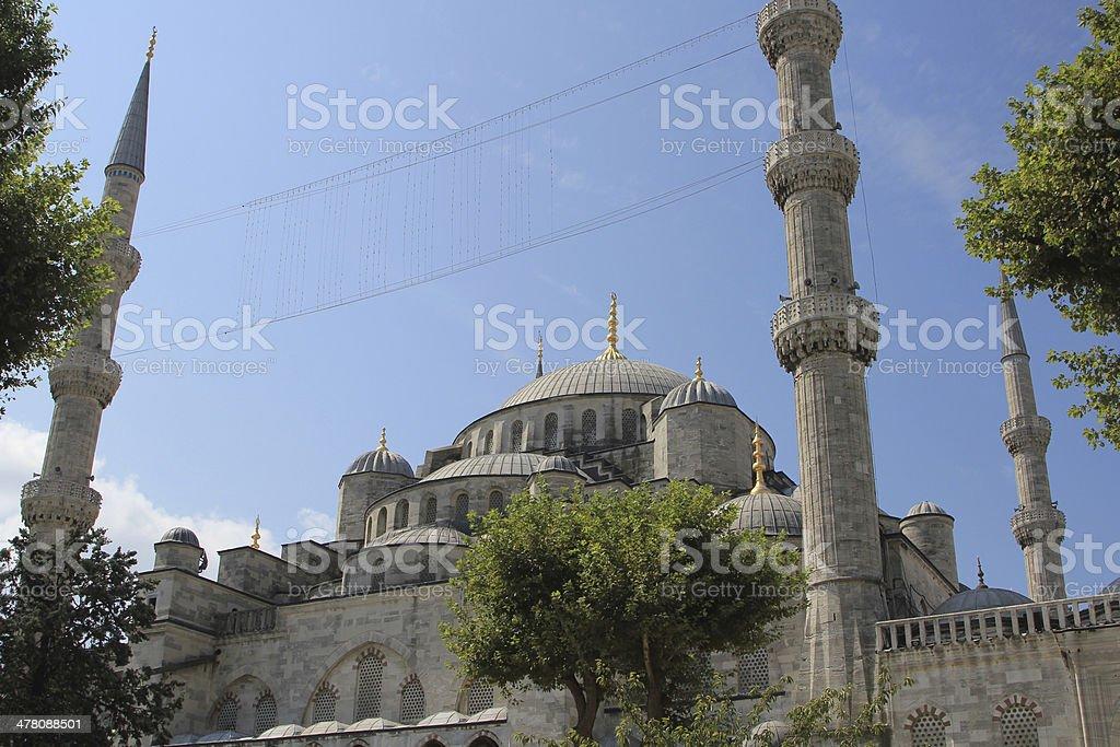 S. Sofia Mosque royalty-free stock photo
