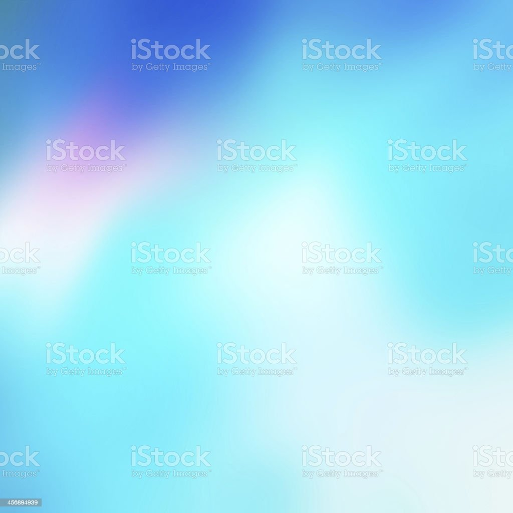 Soft Abstract blue background. stock photo