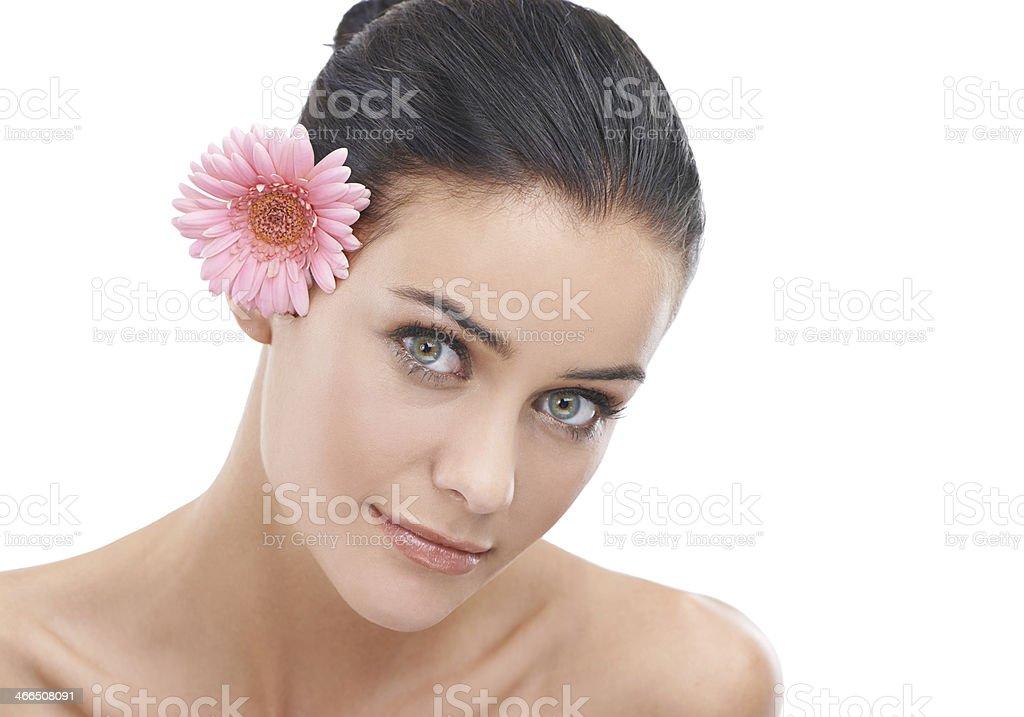 Soft and feminine royalty-free stock photo
