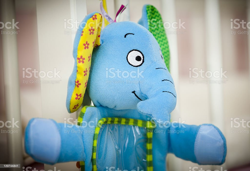 Soft Baby Toy stock photo
