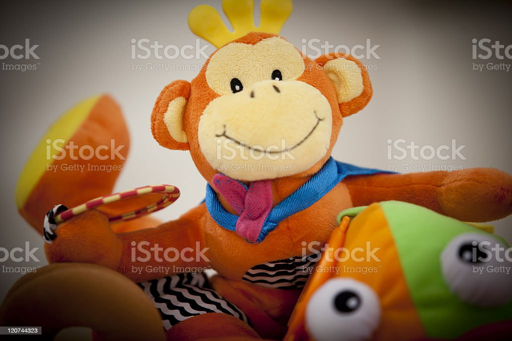 Soft Baby Toys stock photo