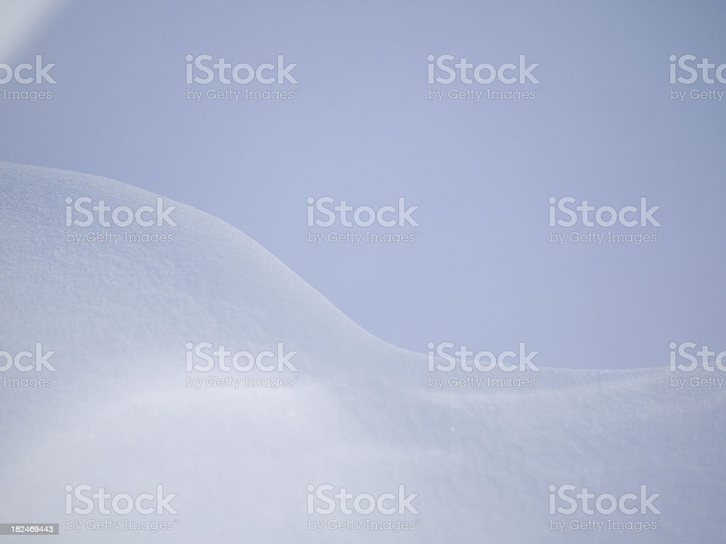 Soft Blue royalty-free stock photo