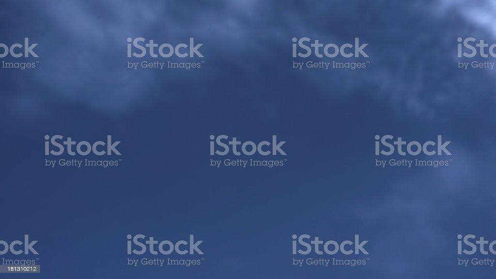 Soft blue sky background royalty-free stock photo