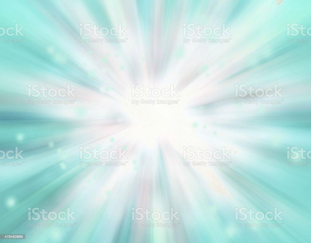 soft blurred rays of light, speed effect, bokeh lights stock photo