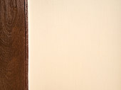 Soft brown cement concrete wall texture modern vintage brown wood