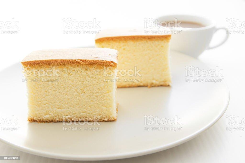 Soft cake royalty-free stock photo