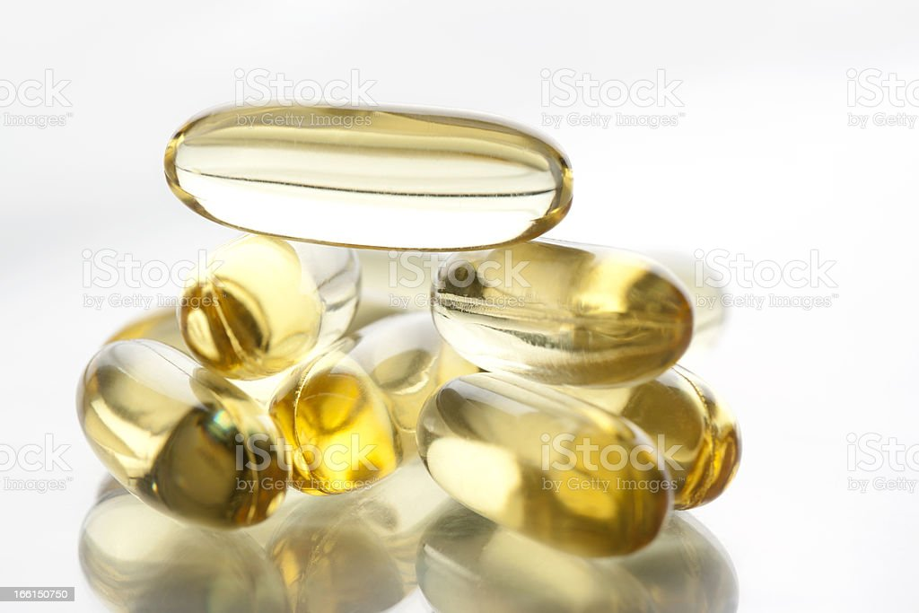 Soft Capsule royalty-free stock photo