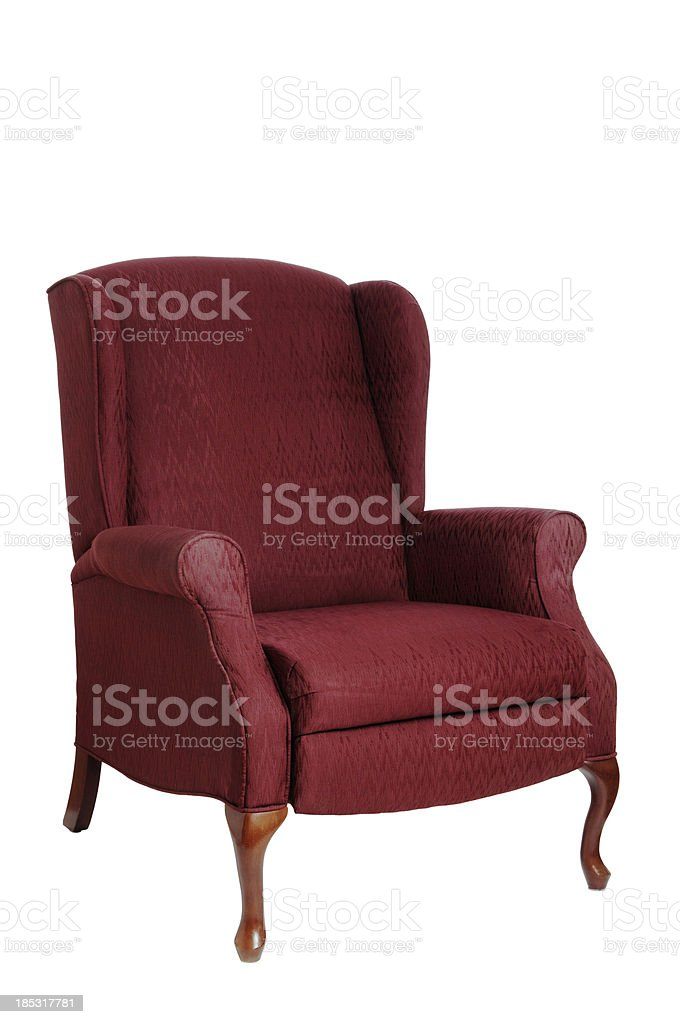 soft chair stock photo