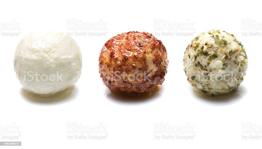 Soft cheese balls royalty-free stock photo