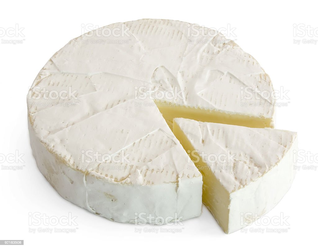 Soft Cheese stock photo