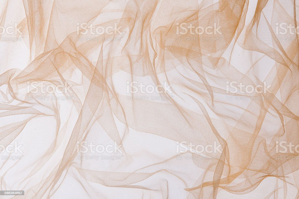 Soft chiffon fabric texture background stock photo
