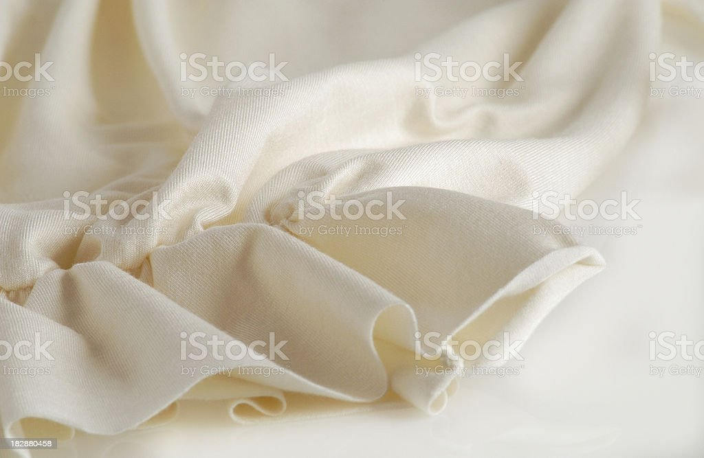 Soft clothing's close-up stock photo