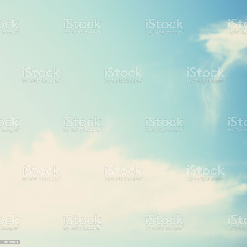 Soft Clouds royalty-free stock photo