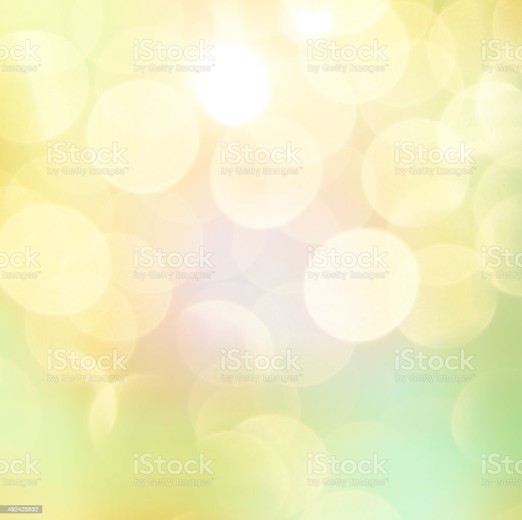 soft colorful bokeh background stock photo