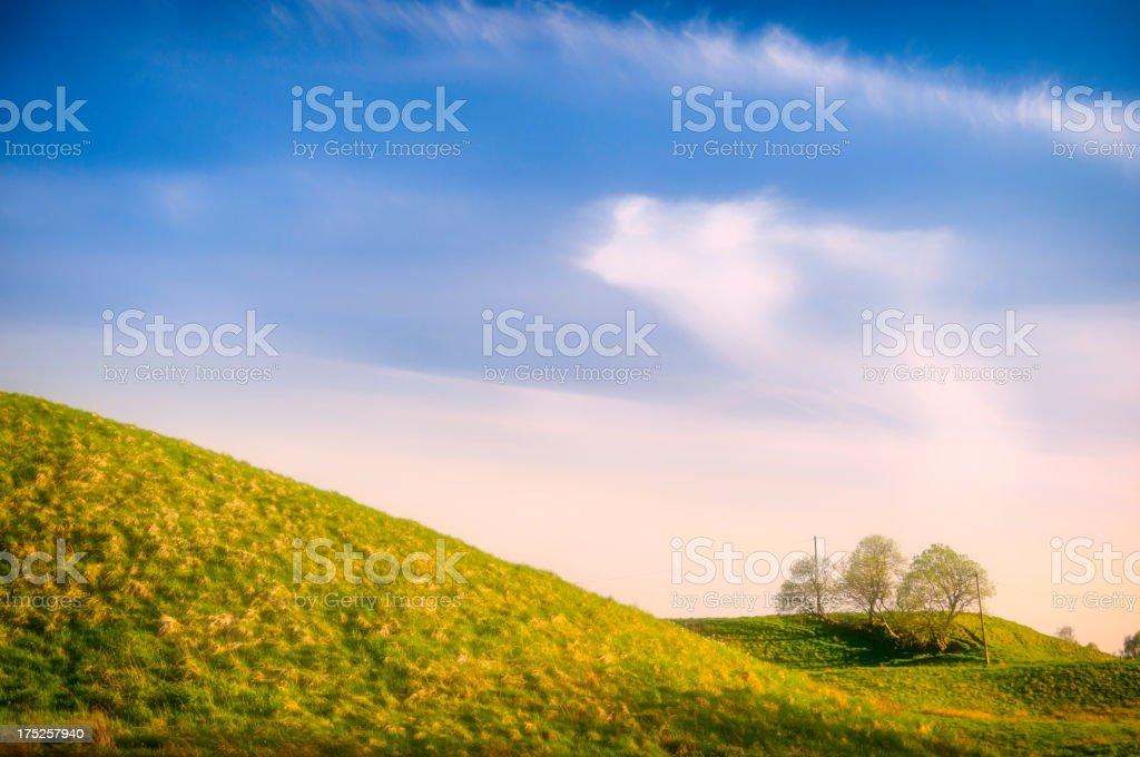 Soft focus Landscape royalty-free stock photo