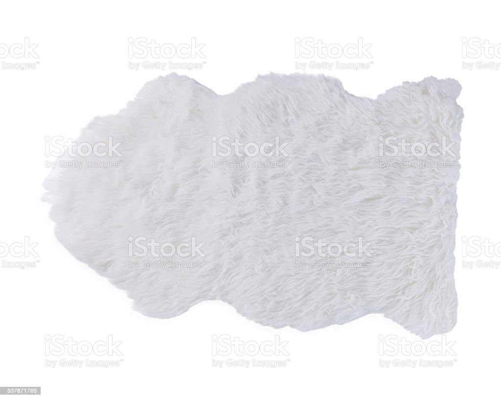 soft fur carpet stock photo