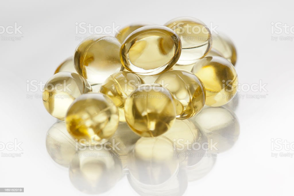 Soft Gelatine Capsules royalty-free stock photo