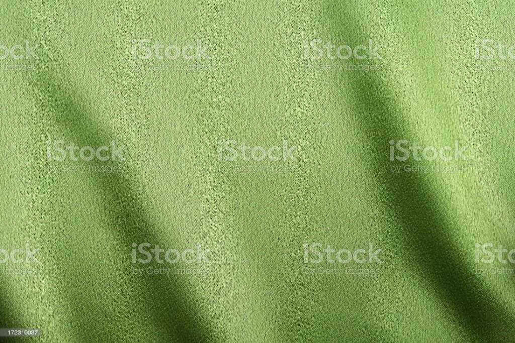 Soft green fabric background royalty-free stock photo
