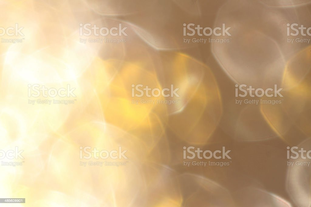 Soft lights gold and silver background stock photo