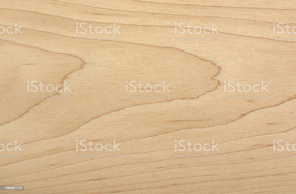 Soft Maple wood sample royalty-free stock photo