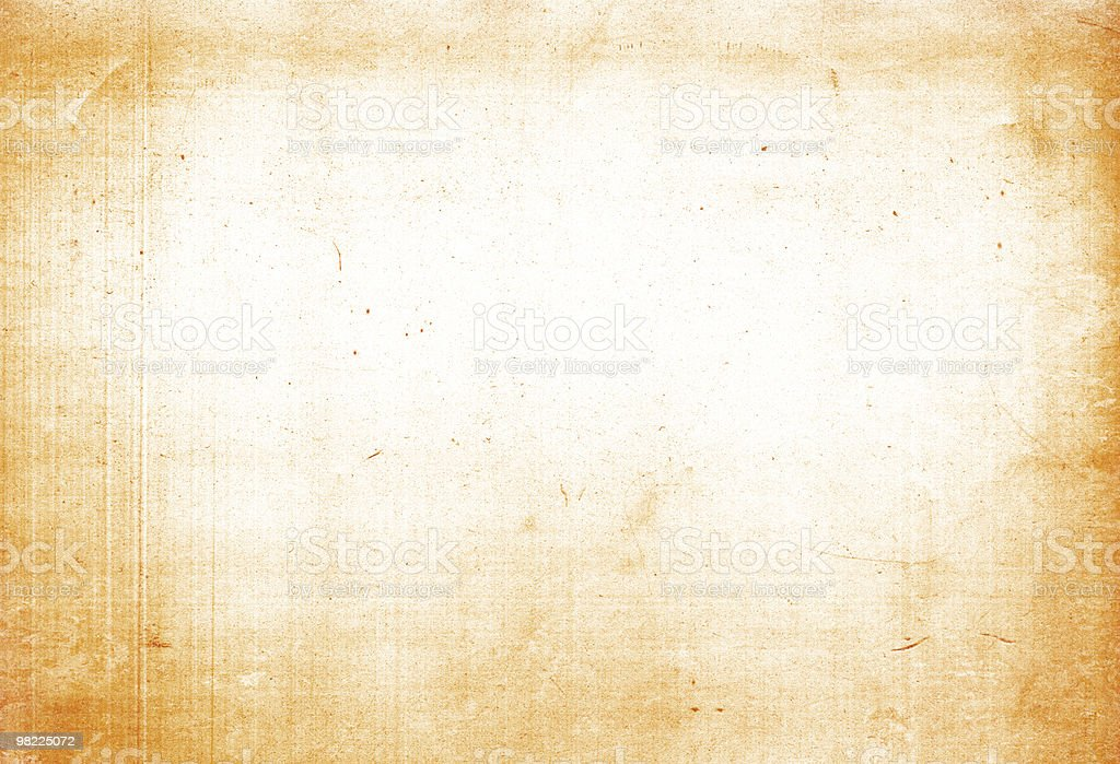Soft Orange Grunge XXL royalty-free stock photo