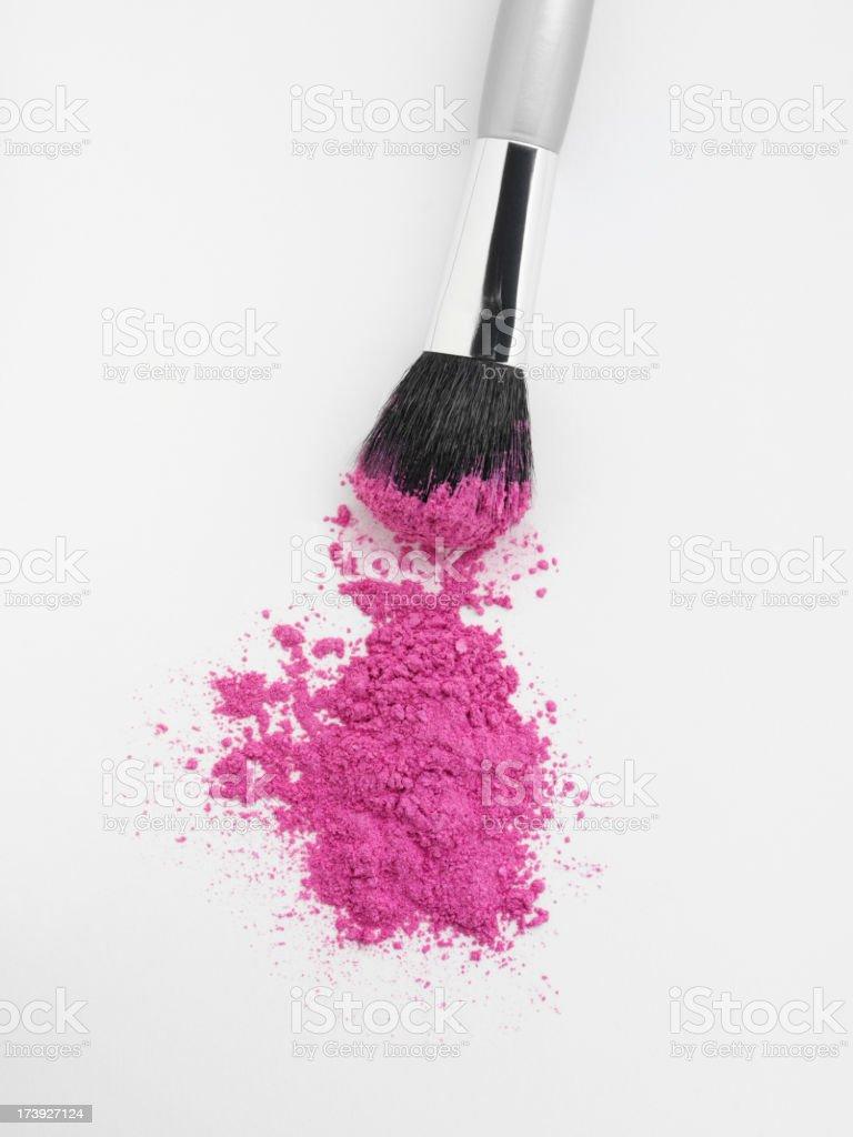 Soft Pink Make Up royalty-free stock photo