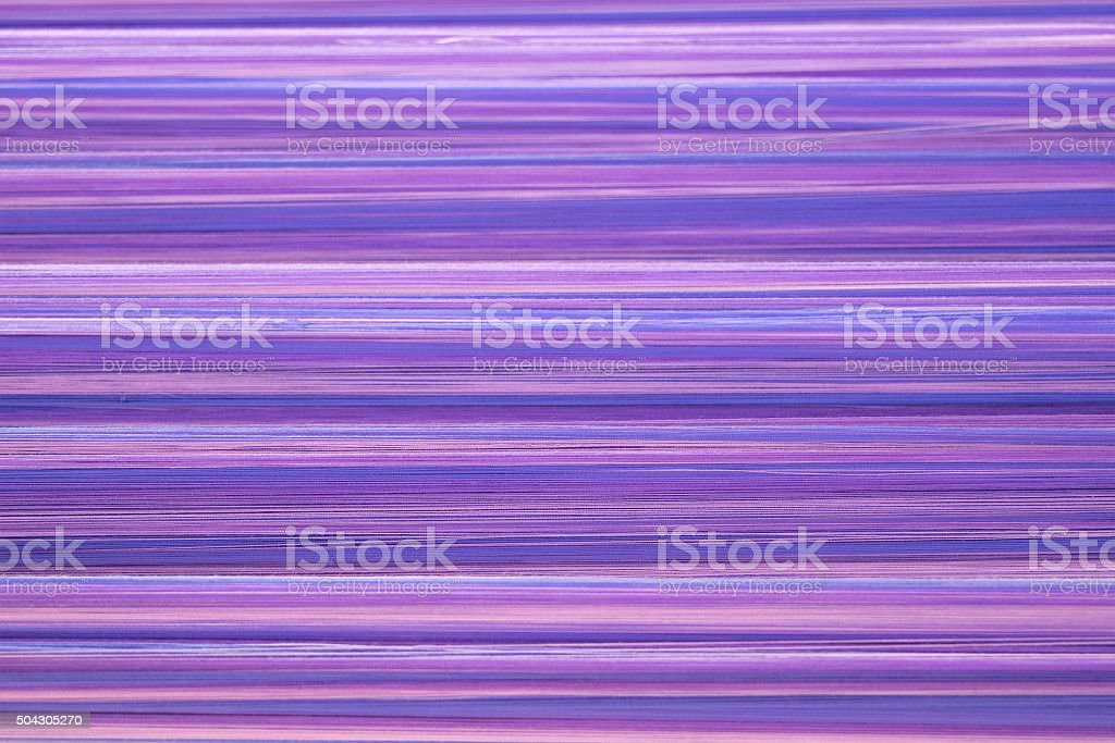 Soft purple cotton thread for abstract background stock photo