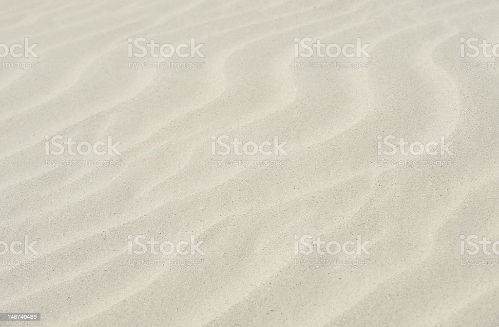 Soft Sand royalty-free stock photo