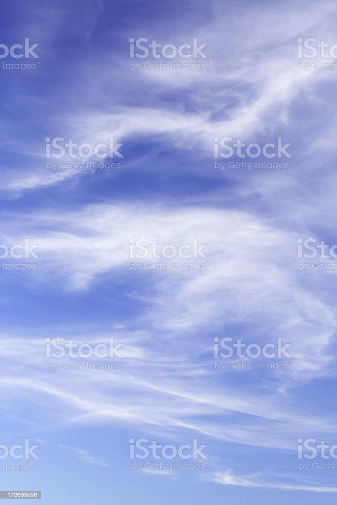 Soft sky background stock photo