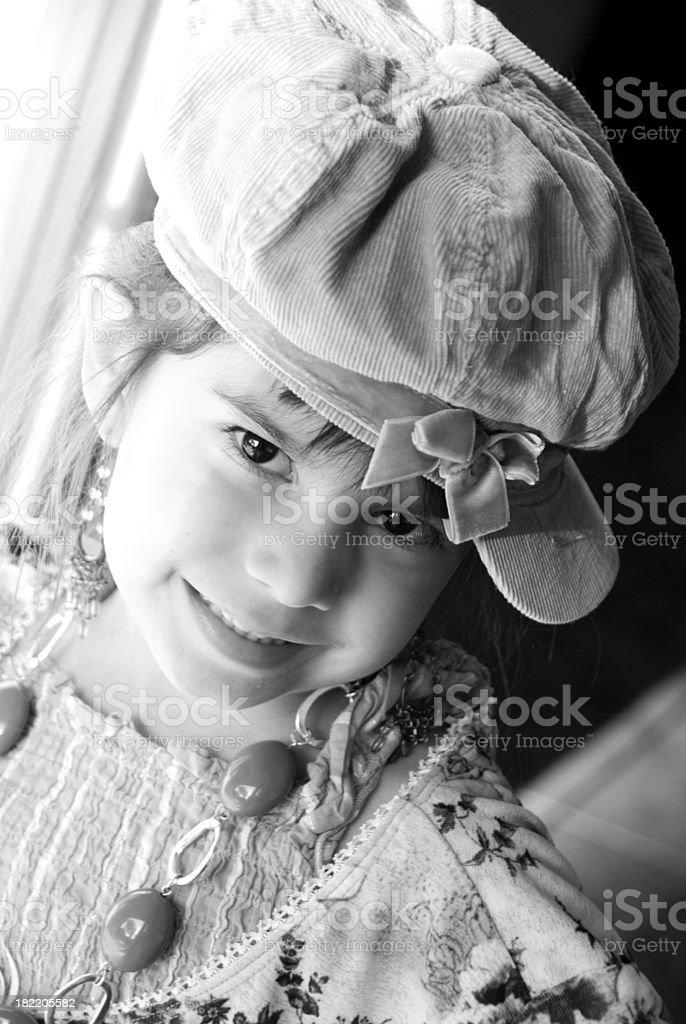 Soft Smile stock photo