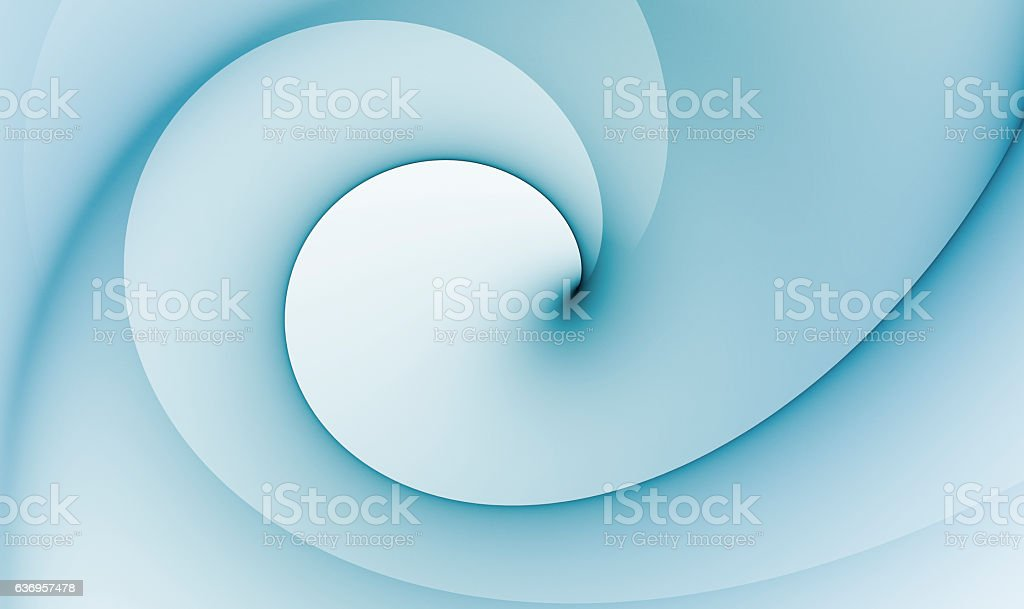 Soft Spiral stock photo