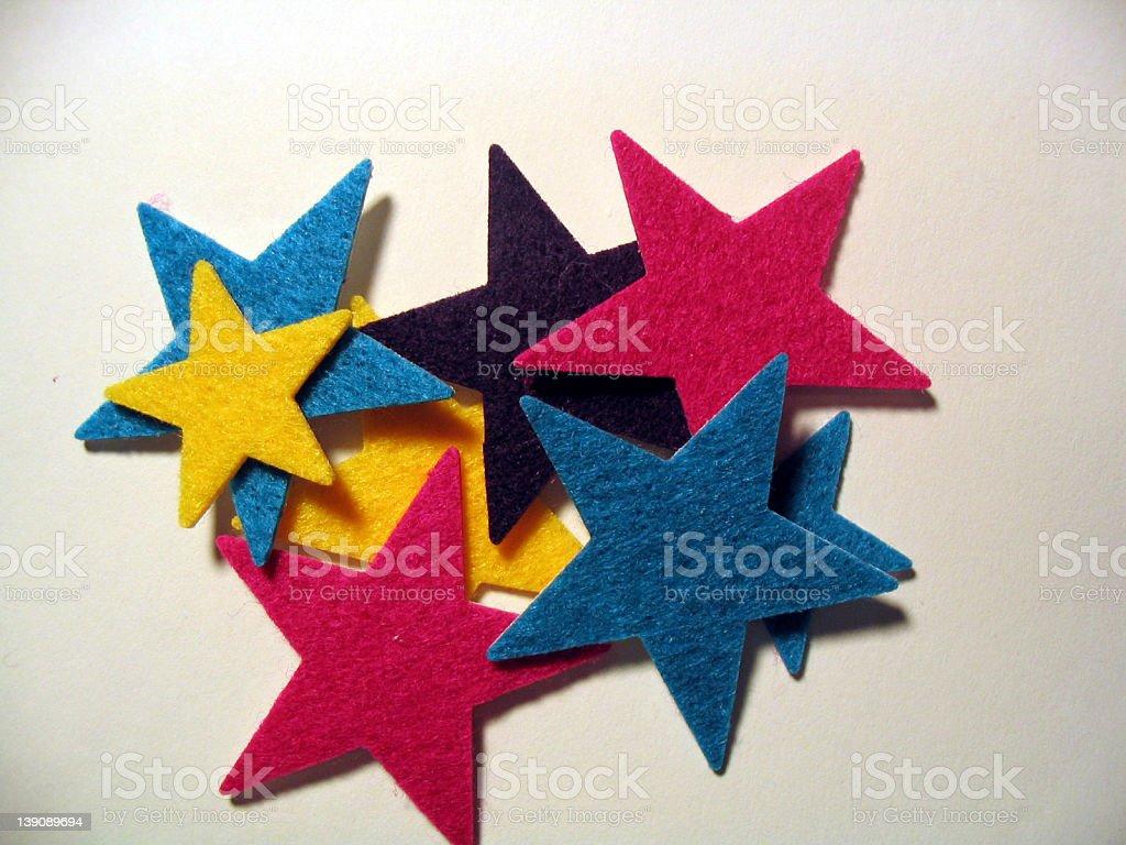 Soft Stars royalty-free stock photo