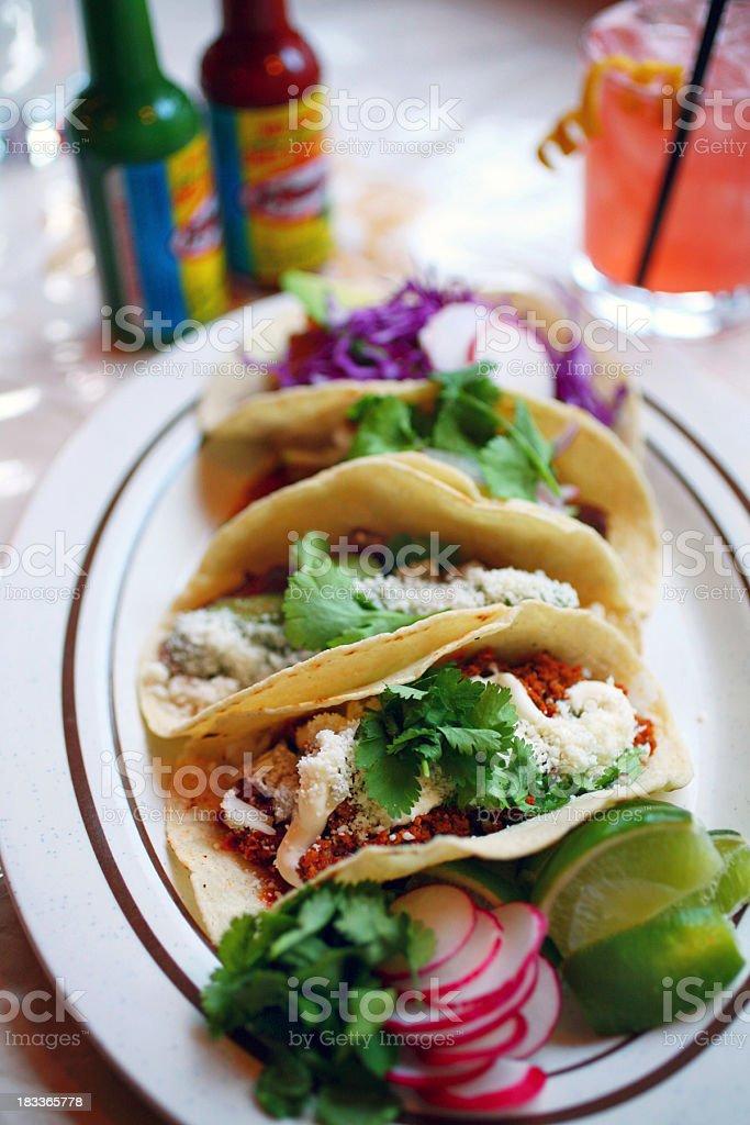 Soft Tacos royalty-free stock photo