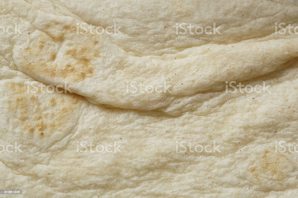 Soft tortilla surface background stock photo