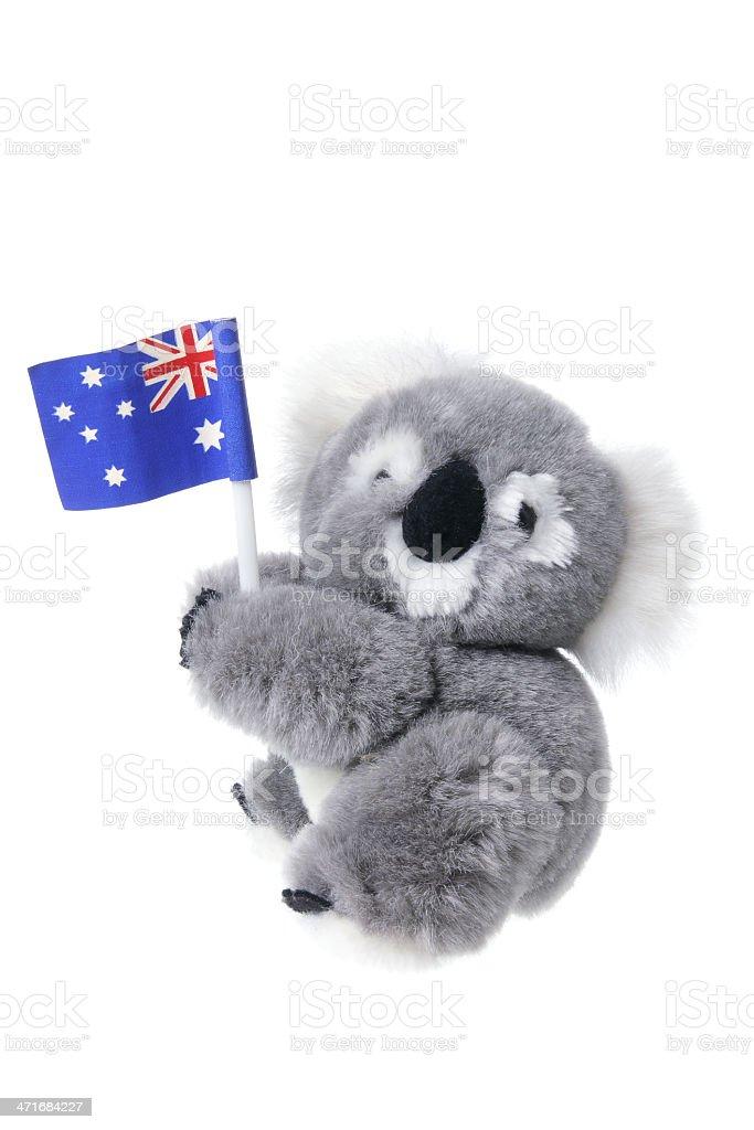 Soft Toy Koala royalty-free stock photo