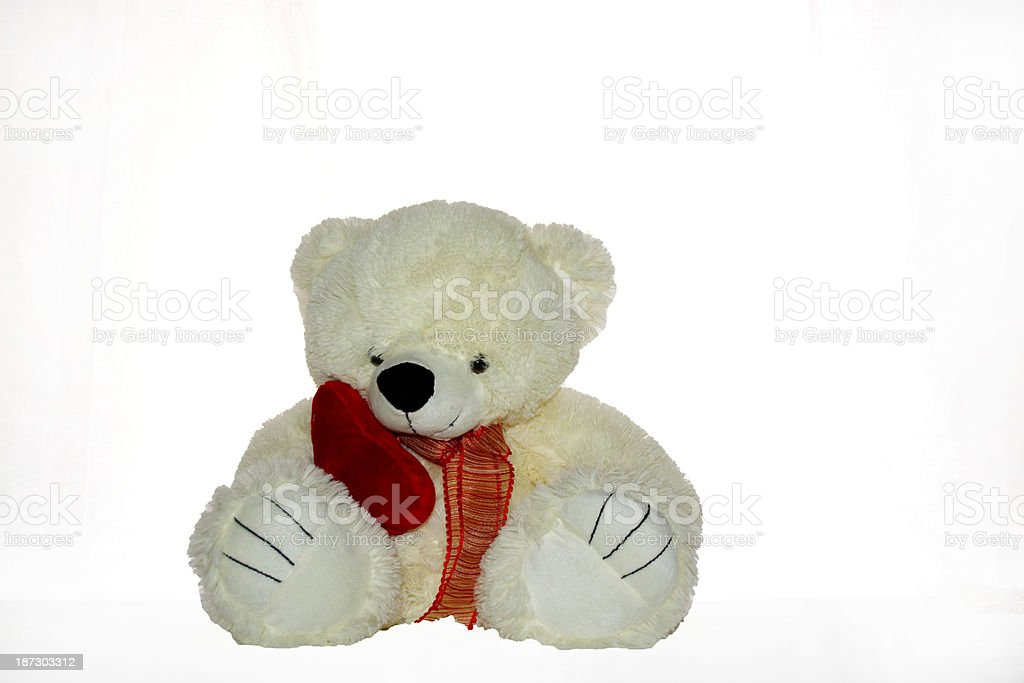 Morbido peluche foto stock royalty-free
