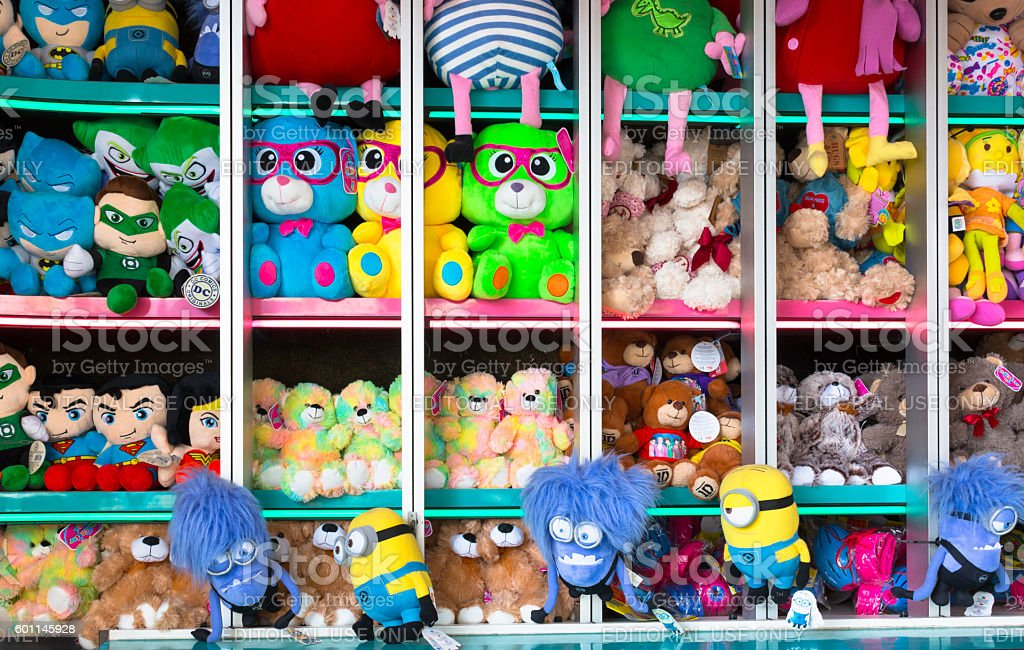 Soft Toys stock photo