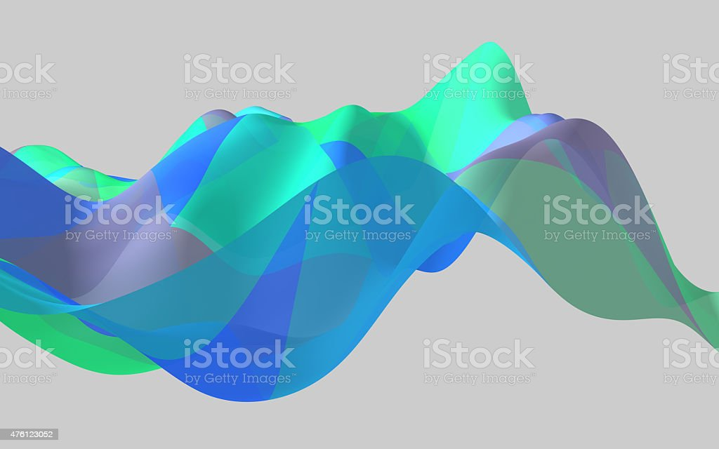 soft wave stock photo