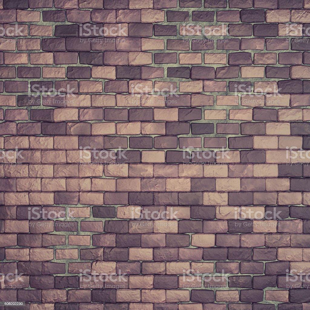 Soft Weathered Brick Wall stock photo