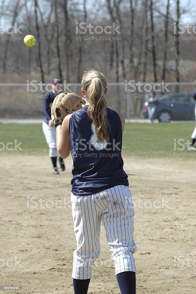 Softball... stock photo